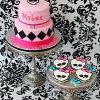 Monster High Cake & Cookies