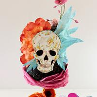 Flower Skull - Sugar Skull Bakers 2015 Collaboration
