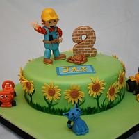 Bob the Builder  by Centerpiece Cakes By Steph