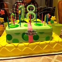 18th Present Birhday Cake