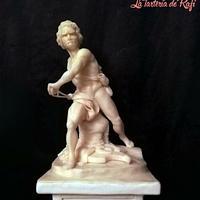 David de Bernini (Greco Roman - An international cake challenge)