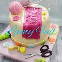 Kniting cake