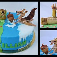 cake Ice Age: sid and scrat