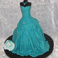 Mannequin Dress Cake