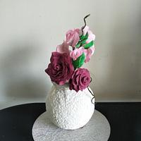 Elegant flower vase
