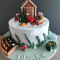 The busy gardener Cake!