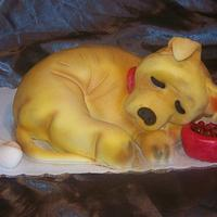 Puppy Cake by Tracy Buttermore