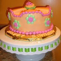 A SPRING BIRTHDAY CAKE