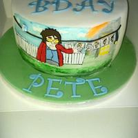 Another Mrs Browns Boys cake by Cakes galore at 24