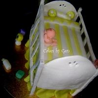 First Attempt Cot/Crib Cake