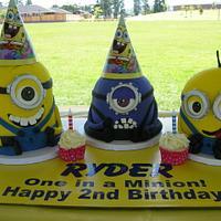 Ryder's Minion Friends!