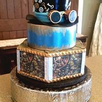 Steampunk Groom's Cake