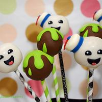 Ghostbusters cakepops.