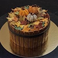 Autumn harvest cake