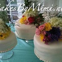Round Wedding Cakes by Emily Herrington