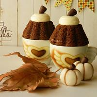 Pumpkins in Cup