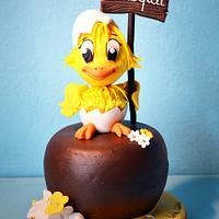 The chick of Easter, Il pulcino di Pasqua
