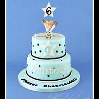 Pioneer Cheerleading Cake