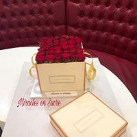 Fleurs de Paris cake