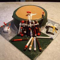 Lace maker's cake