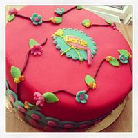 Pip Style cake by marieke