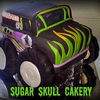 Monster Truck Cake=)