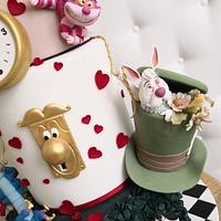 Alice in Wonderland by Rose Cakes