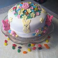 Easter Bunny Cake by Patty Cake's Cakes