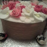 Flower Basket by NooMoo