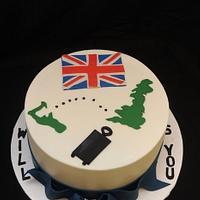 Bon Voage Cake