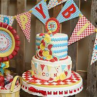 picnic themed first birthday