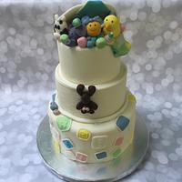 Baby Toy Box Cake