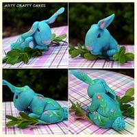 Easter Bunny cake topper by Maria