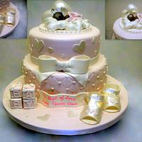 Natasha's Baby Shower Cake