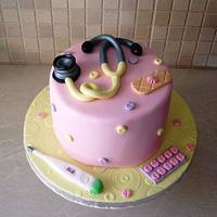 Doctor cake by Dora Avramioti