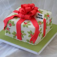 Holly Leaves Gift