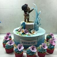 Oceania - Moana cake