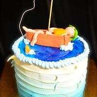 Lazy Fisherman Cake