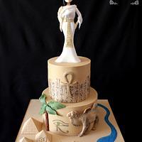 Egypt cake