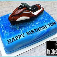 THE JETSKI BIRTHDAY CAKE