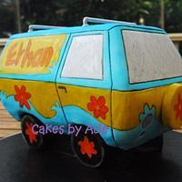 Scooby Doo Mystery Machine - 5th Birthday