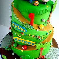 Jungle Junction cake by Liana @ Star Bakery