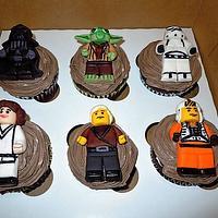 Star Wars Lego Cupcakes