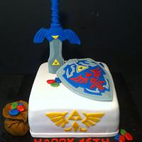 Legend of Zelda Cake