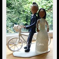 Bride & Groom Wedding topper