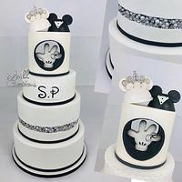 Wedding cake disney