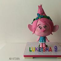 Princess Poppy 3D cake
