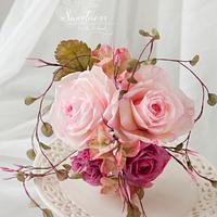 Wafer Paper Bouquet