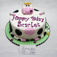 Cute Cow ...