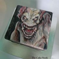 Pumpkinhead Cake by Zoe White